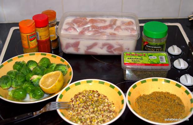 куриное филе в ореховой панировке, фото-рецепт