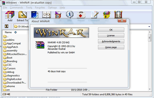 winrar 30 day trial download