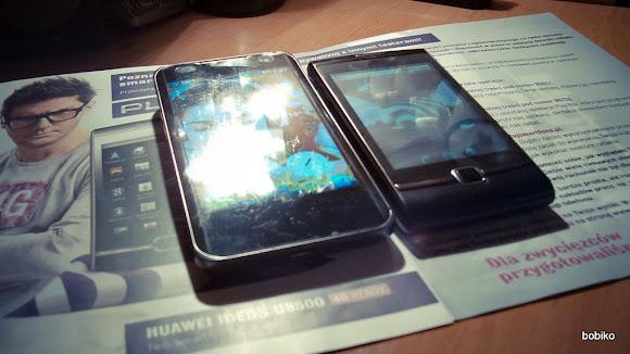 LG 2X P990 vs Huawei Ideos U8500