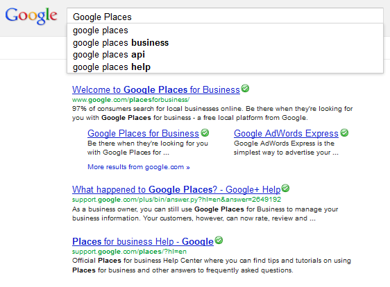 Claim Google Places Listing