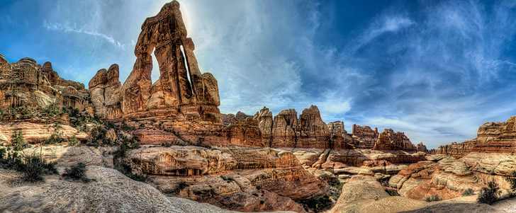 Elephant Canyon / Druid Arch (15 Best Hikes in America).