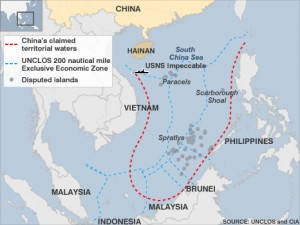 China's claims in South China Sea