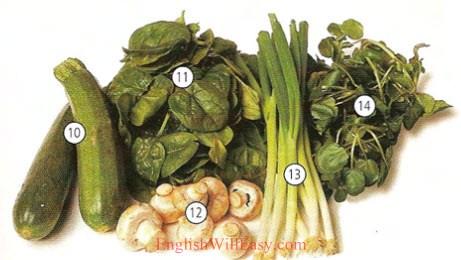 Diccionario de verduras y alimentos-Resim