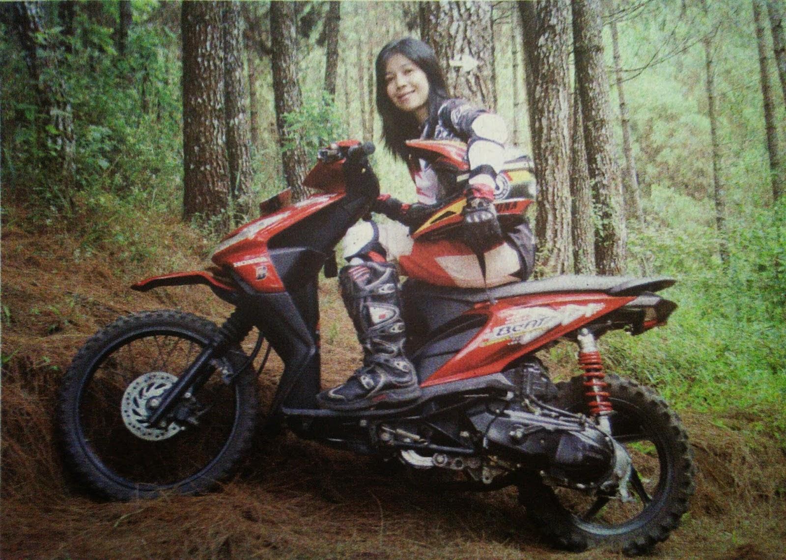 Modifikasi Honda Beat Menjadi Trail  Thecitycyclist