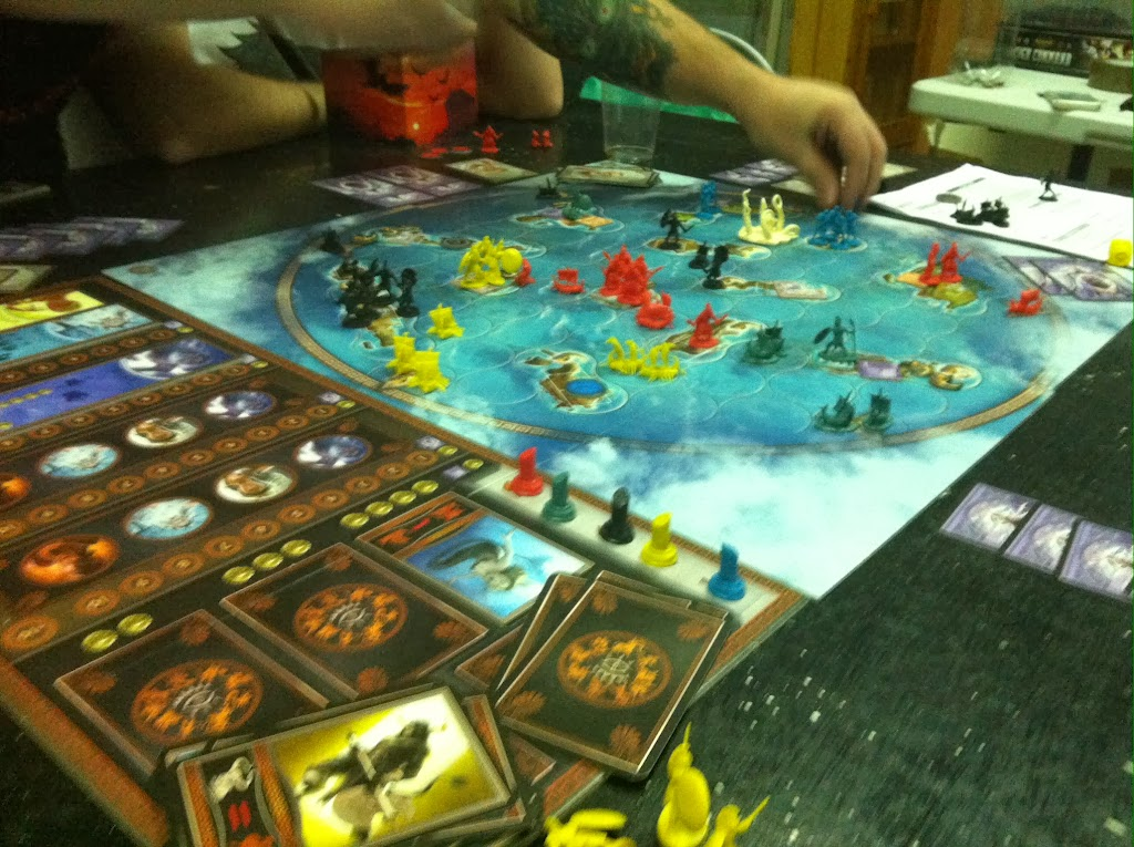 Cyclades EuroGame Ameritrash Asmodee bruno cathala ludovic maublanc juego de mesa BoardGame Crying Grumpies