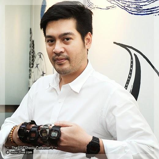 Thai G-Shock Collector คุณต๊อด ปิติ ภิรมย์ภักดี