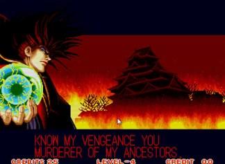Amakusa jurando vingança contra o xogunato