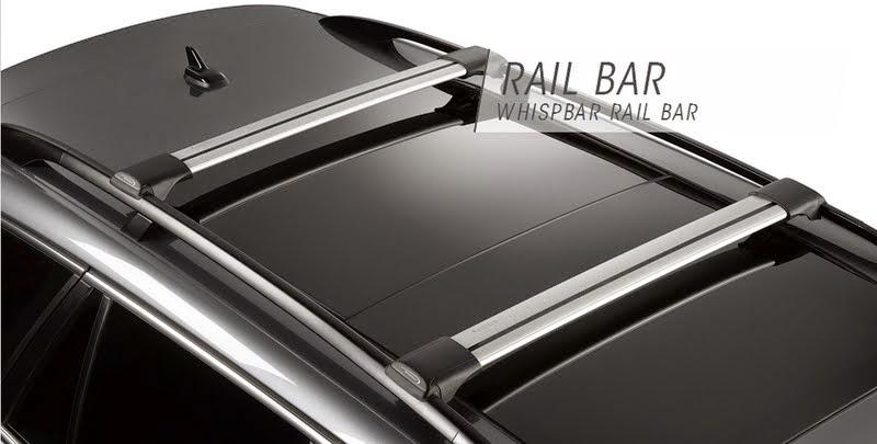 小熊窩 ( Bear House ): [開箱] 流線低風阻的車頂橫桿 – Yakima Whispbar Rail Bar