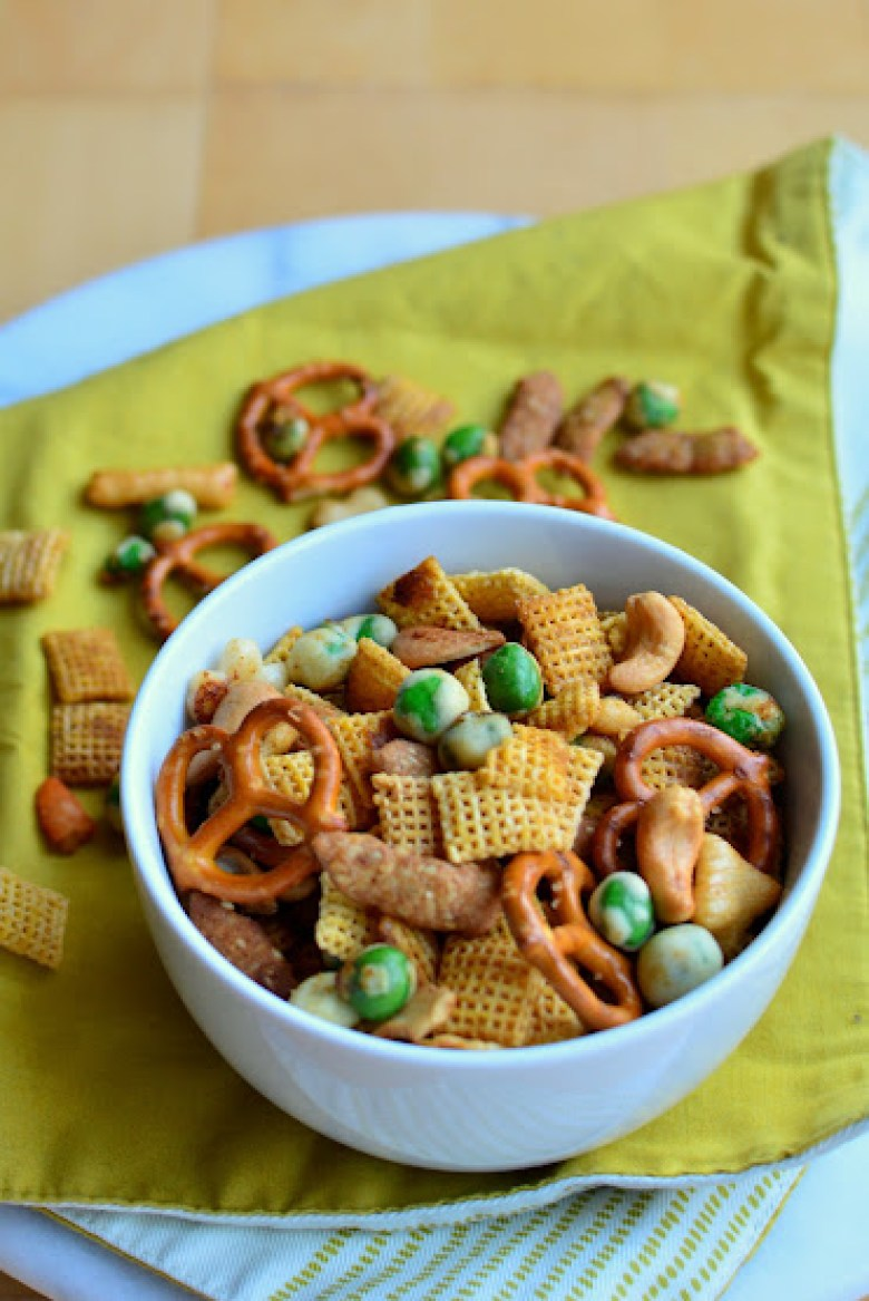 Wasabi Soy Chex Mix Builicious