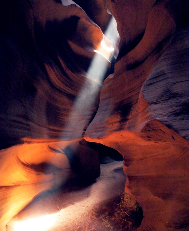 The beam of light in Upper Antelope