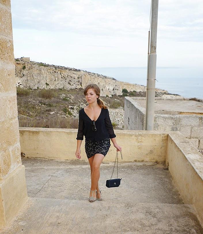 robe zara, inspiration mode, lookbook, tenue du jour, malte