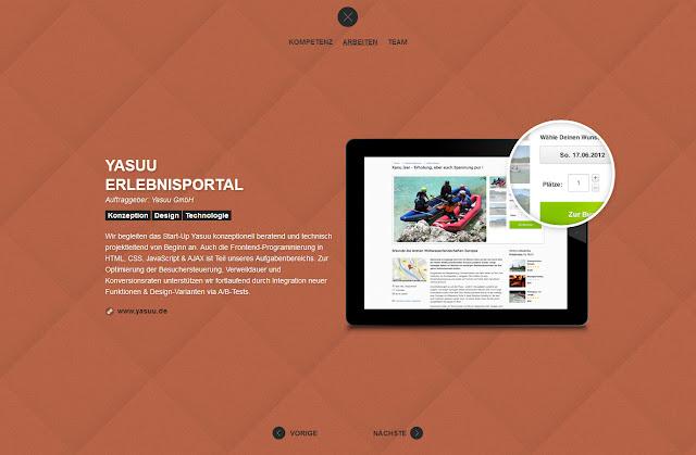 *不是Flash卻有如Flash效果的動態網站:3Digital Web Site 5