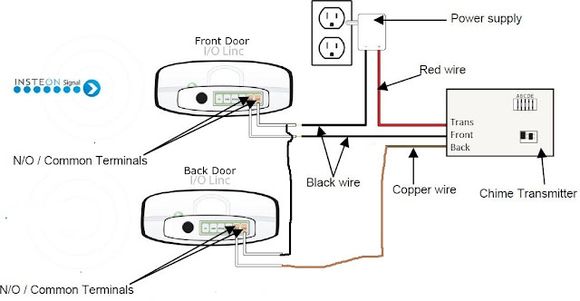 adding addition wiring diagram chime