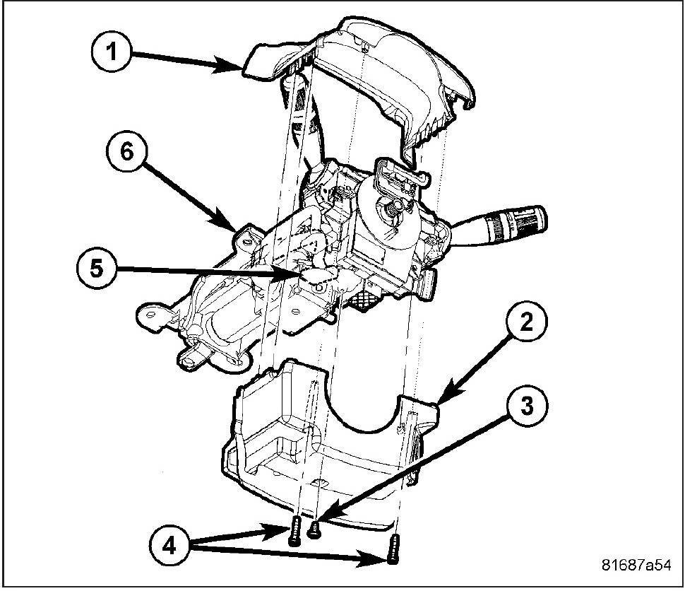 Service manual [Remove 2004 Honda Pilot Steering Column