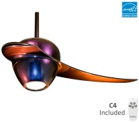 Fanimation Single Blade Enigma Ceiling Fan With Light and ...