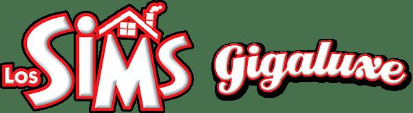 Logo Los Sims Gigaluxe horizontal