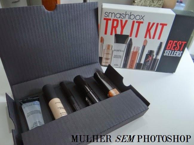 Try It Kit - Miniaturas da Smashbox