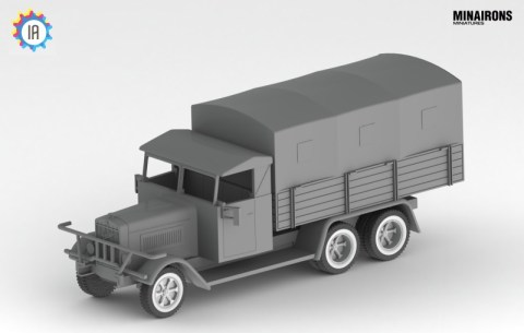 Camion aleman en 28mm