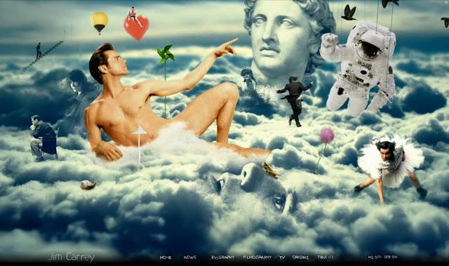 *讓我們來一窺金凱瑞的奇妙世界吧! Jim Carrey - Official Web Site 10