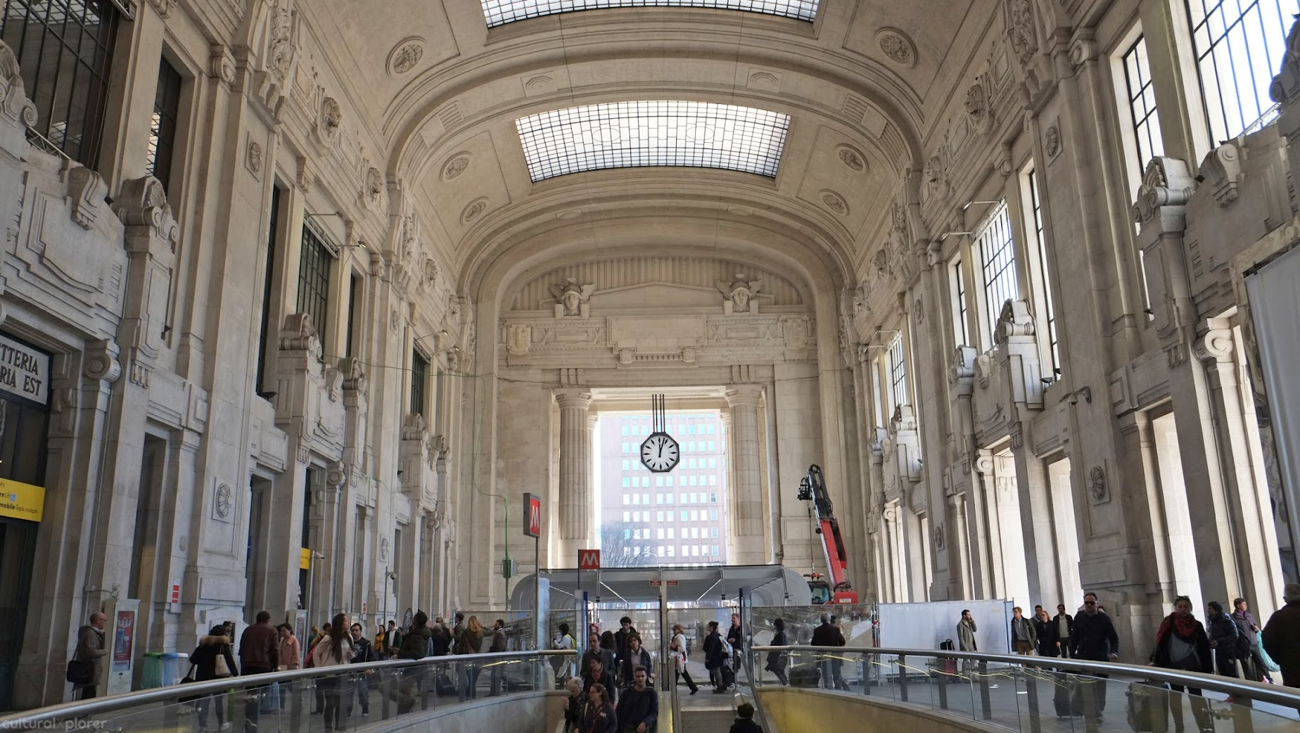 Milan Centrale Station
