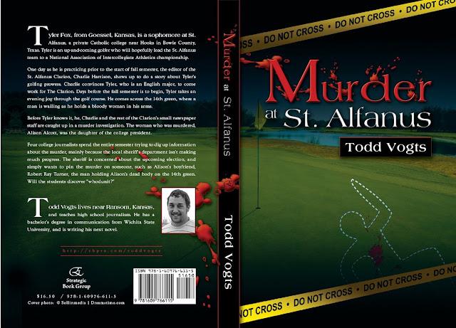 Murder at St. Alfanus by Todd Vogts