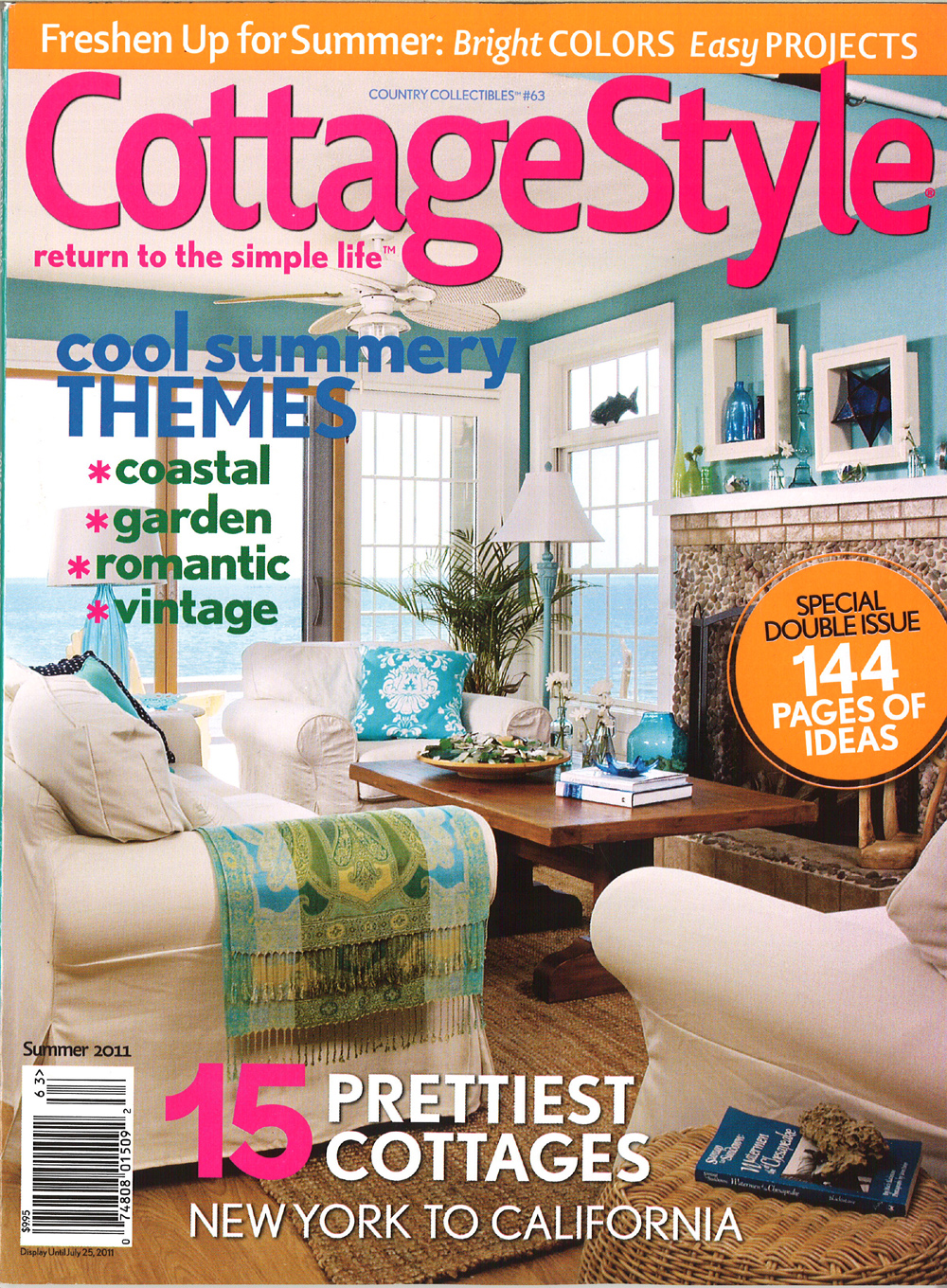 Cordelia's Cottage Cottage Style Magazine Features Our
