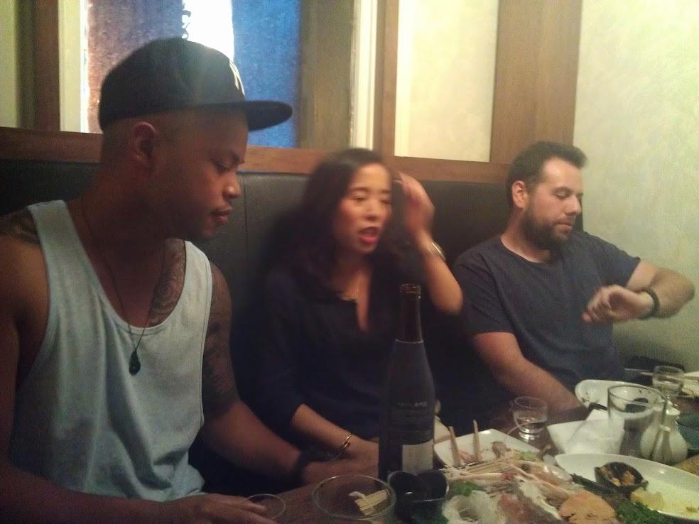 Chris, Jenny and Ilya are like... hmmmm what to do