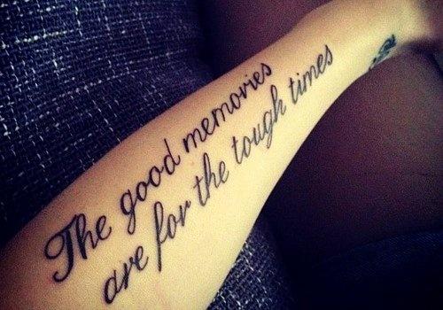 quote tattoo designs