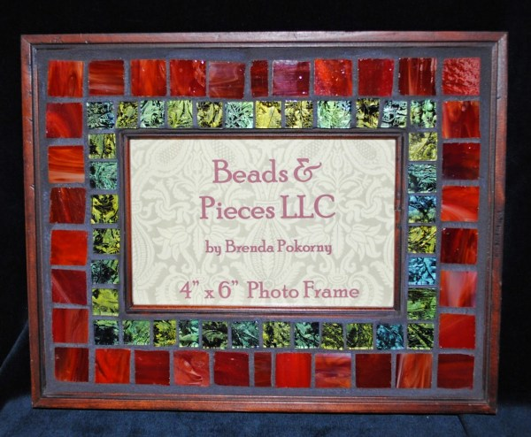 "4"" X 6"" Mosaic Frames - Beads & Pieces"
