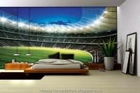 Boy's Football Bedroom Themed Decoration Ideas