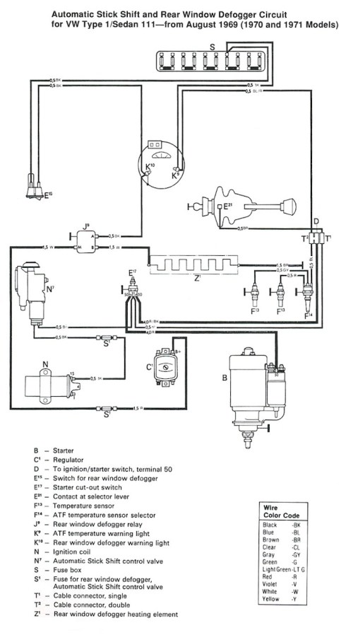 small resolution of 1974 type 1 vw beetle fuse box diagram