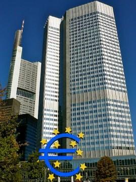 (ECB) European Central Bank headquarters
