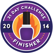 31 Day Challenge 2014 round up