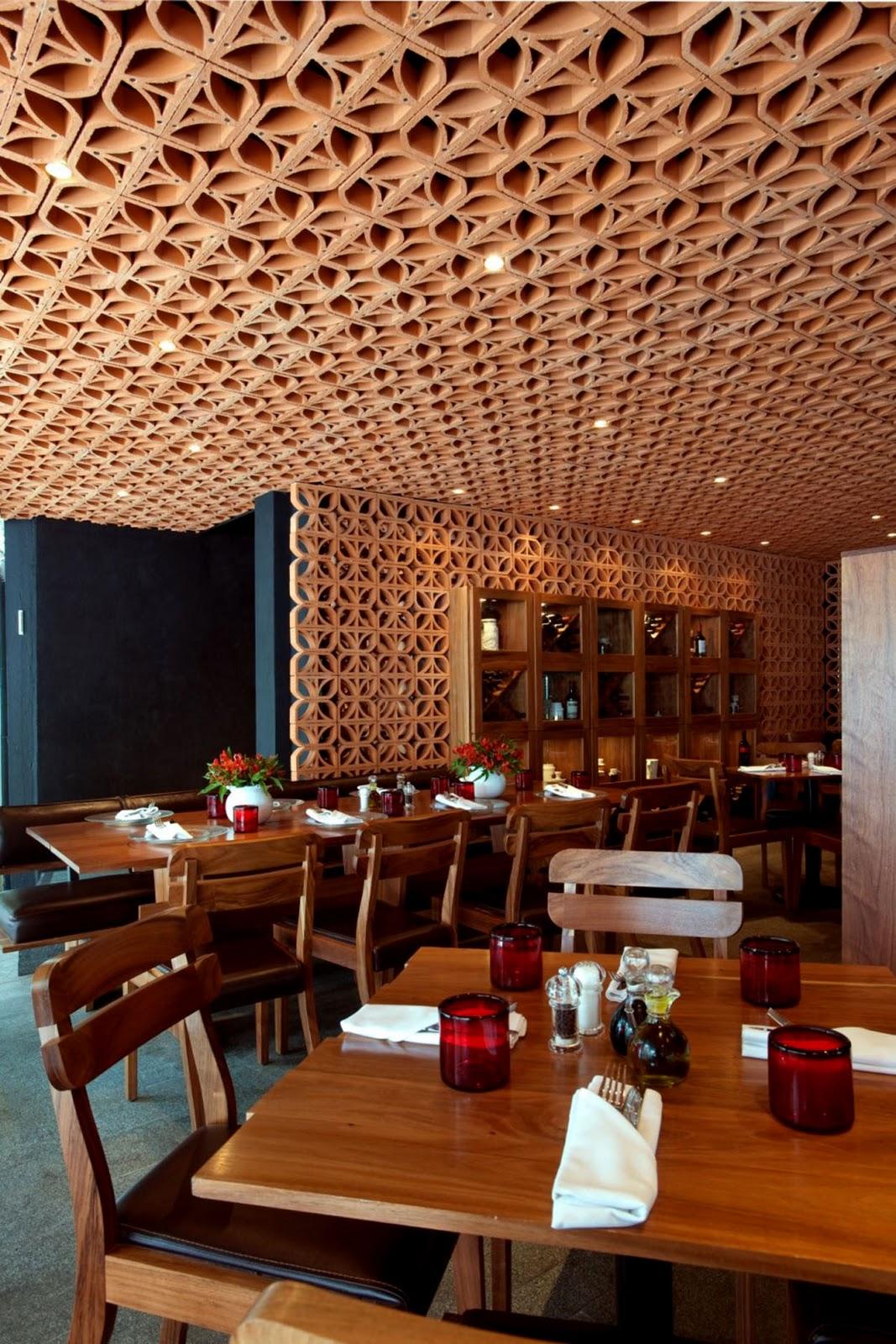 interior design information Warm Interior Atmosphere Restaurant Design By Cherem Serrano