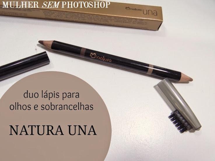Duo lápis para olhos e sobrancelhas da Natura Una
