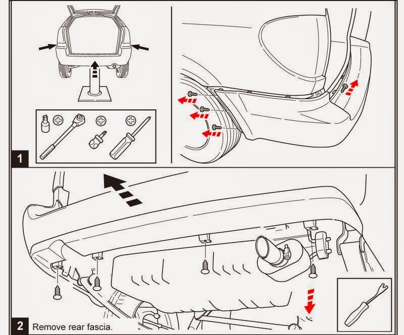 Service manual [How To Remove Rear Bumper 1996 Chrysler