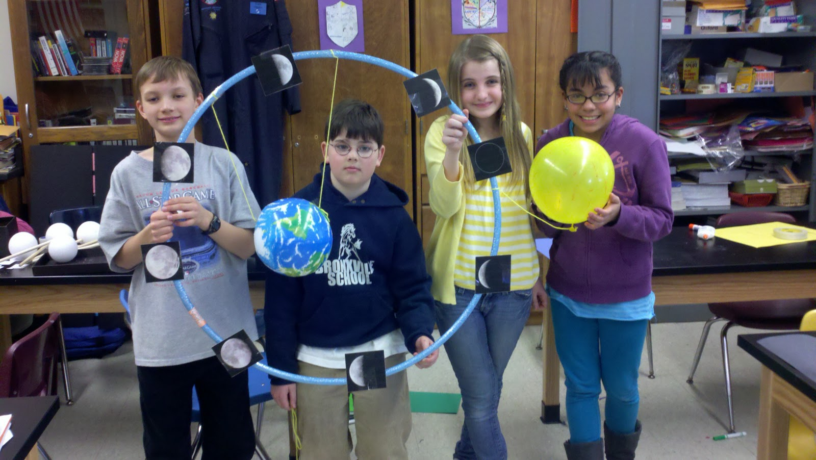 Moon Phases Project Images