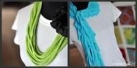 Grandma Honey: Making scarves from T shirts?