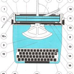 Manual Typewriter Diagram Fuel Pump Wiring Harness Oz 39new 39 Old Typewriters Lagomarsino Alba