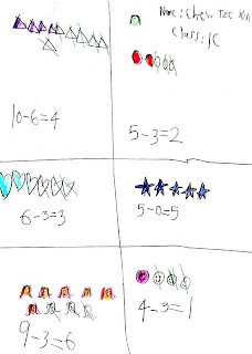 Endeavour Primary School: Subtraction Sentences and Story Sums