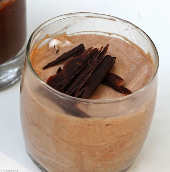 light airy chocolate mousse