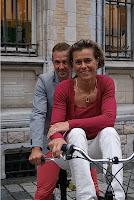 Johan Museeuw en Gella Vandecaveye