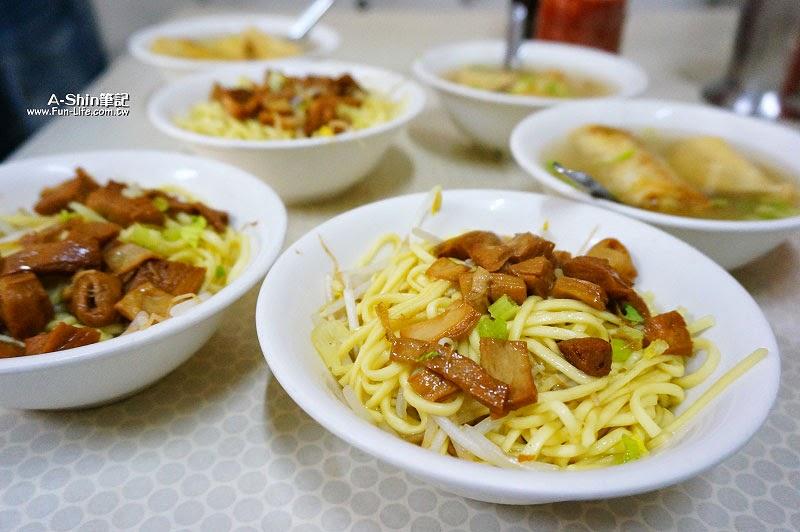彰化鹿港小吃,林明堂素食麵-7
