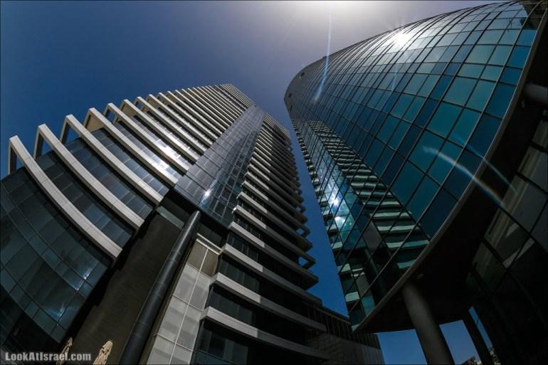 Тель Авивские небоскребы - Башни Псагот и Ротшильд 1