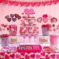 Candy buffet service candy station for birthday party ideas