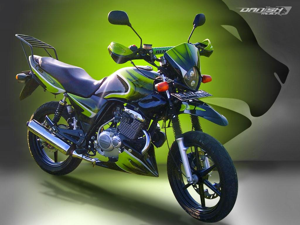 Suzuki Thunder 125 Modifikasi Cafe Racer  Thecitycyclist