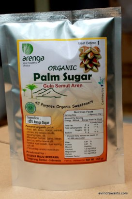 palm sugar organik
