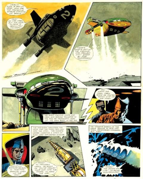 Thunderbirds by Frank Bellamy