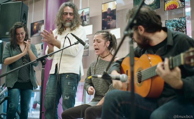 Flamenc amb Senen al Casal de barri de Prosperitat