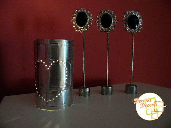 Cómo hacer lamparitas para decorar en San Valentin.